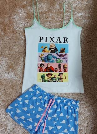 Пижама или костюм для дома английского бренда primark, анг. 12-14 р. (евро 40-42 р.)