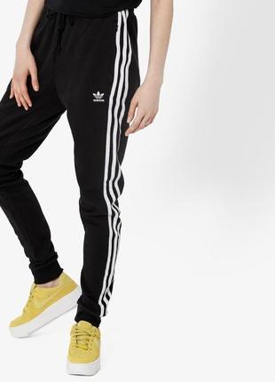 Спортивные штаны adidas оригинал с высокой посадкой