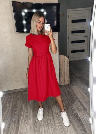 Платье миди, сукня міді2 фото