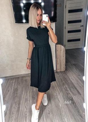 Платье миди, сукня міді3 фото