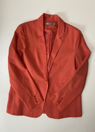 Удлиненный актуальный блейзер женский пиджак asos m l