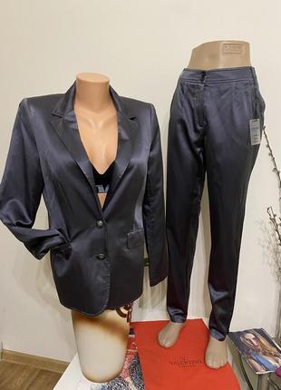 Стильный шелковый костюм patricia dini heine  brunello cucinelli lora piana mac mara cos