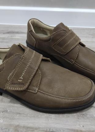 Шкіряні нові туфлі від orchard 45p. 30cm