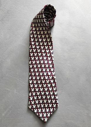 Галстук дисней, disney галстук, галстук подарок с микимаусом