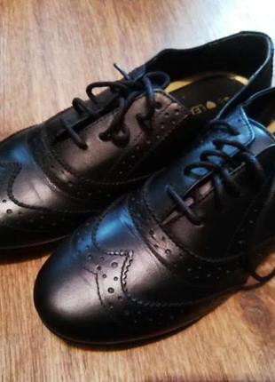 Туфли 38 р кожа