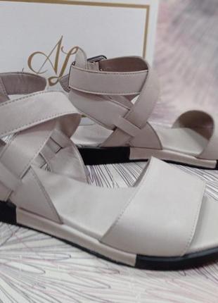 Стильные сандалии, босоножки на плоской подошве 36-41 р.новинка