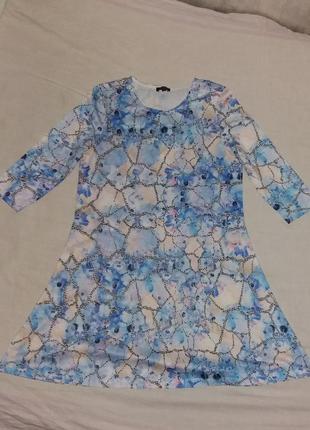 Свободное короткое платье river island
