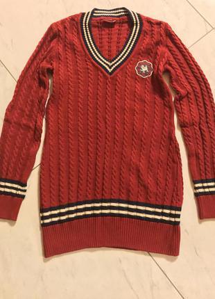 Удлинённый свитер