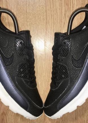Кожаные кроссовки nike air max 90 ultra(оригинал)р.38.5