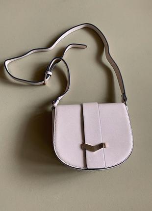 Бежевая сумка topshop