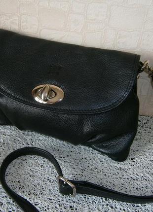 Маленькая сумка кросс-боди из натуральной кожи. lakeland1 фото