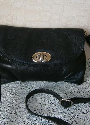 Маленькая сумка кросс-боди из натуральной кожи. lakeland2 фото