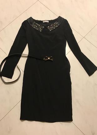 Чёрное платье balizza