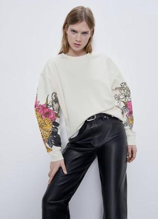 Zara свитшот / кофта / батник