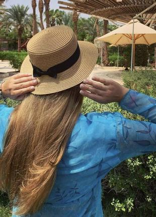 Шляпа-канотье, плетеная шляпа, соломенная шляпа, тренд 2021