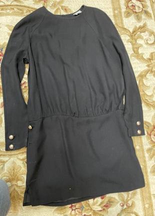 Платье чёрное reiss