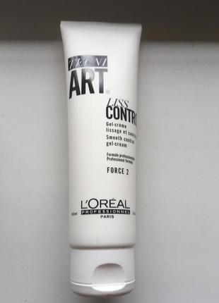 Tecni art l'oreal liss control gel-crem гель для гладкости