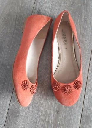 Jones балетки,туфли,босоножки замш ,размер 36-36
