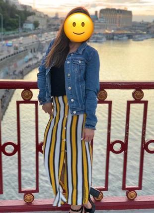 Длинная юбка на пуговках