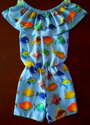Комбинезон ромпер платье сарафан +солошка