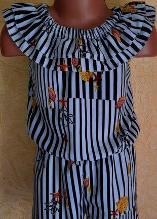 Комбинезон ромпер платье +солошка1 фото