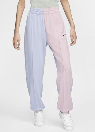 Nike трендовые широкие штаны,высокая посадка,оригинал!