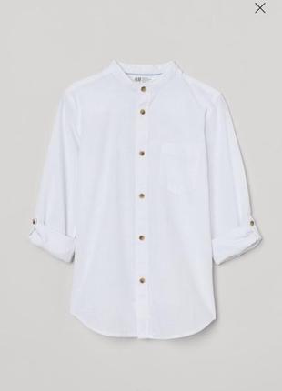 Рубашка h&m размер 134