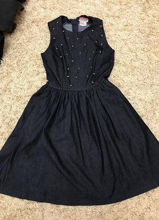 Круте джинсове плаття