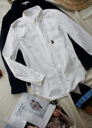 Базова рубашка сорочка котон  gap