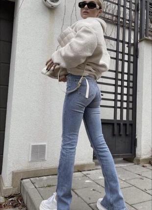 Трендові джинси zara джинсы