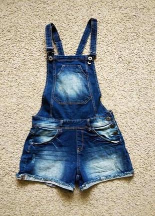 Ромпер комбинезон летний джинсовый размер s-m