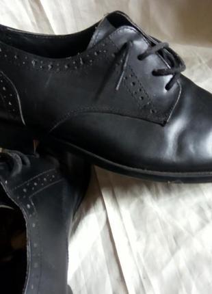 Туфли кожаные италия, размер 43