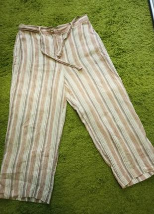 Льняные брюки, штаны