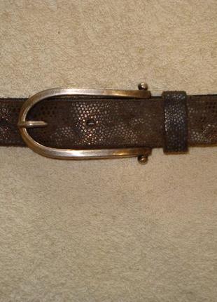 Ремень кожаный bernd gotz длиной 94 см