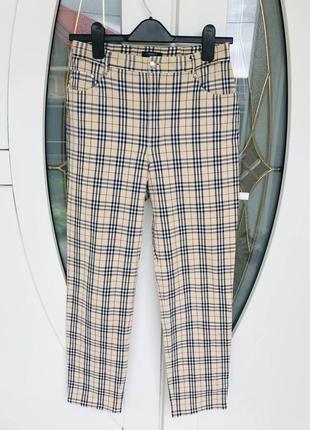 Женские штаны burberry оригинал