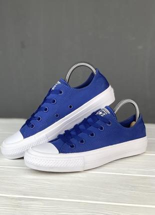Кеды converse all star 2 синие