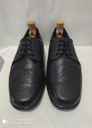 Кожаные очень лёгкие ортопедические туфли cosyfeet