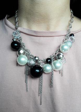 Ожерелье колье бусы украшение