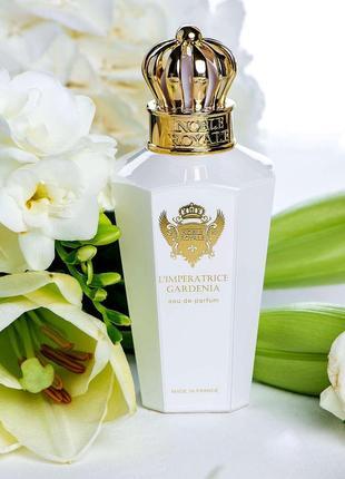 Noble royale l'imperatrice gardenia оригинал_eau de parfum 2 мл затест