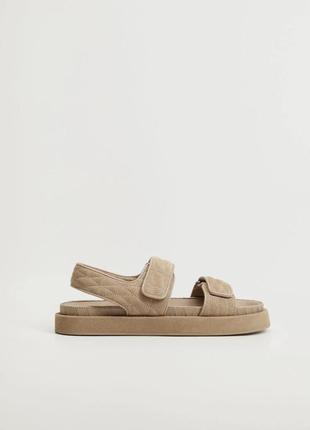 Кожаные сандали 2021