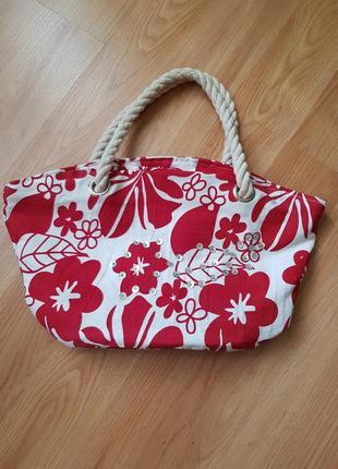 Летняя сумка, тканевая сумка, корзинка, шопер