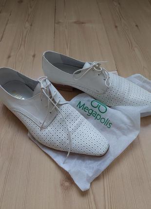 Летние легкие мужские туфли, свадебные туфли