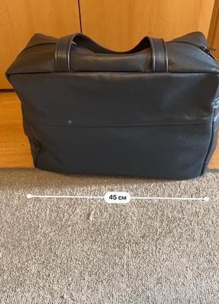 Дорожная кожаная сумка ручной работы8 фото