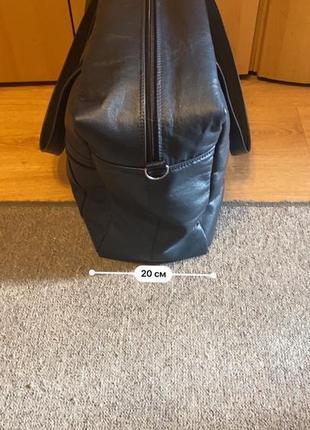 Дорожная кожаная сумка ручной работы7 фото