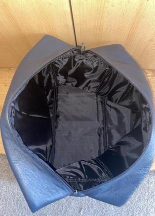 Дорожная кожаная сумка ручной работы6 фото