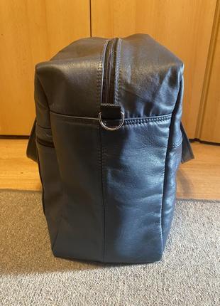 Дорожная кожаная сумка ручной работы2 фото