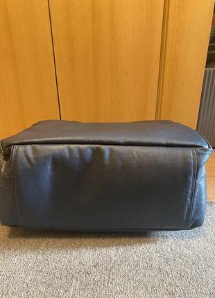 Дорожная кожаная сумка ручной работы4 фото