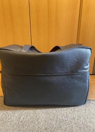 Дорожная кожаная сумка ручной работы3 фото