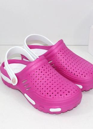 Трендовые кроксы / кроксы  / розовые кроксы / женские кроксы