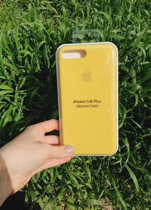 Чехол silicone case для айфон iphone 7 plus / 8 plus +
